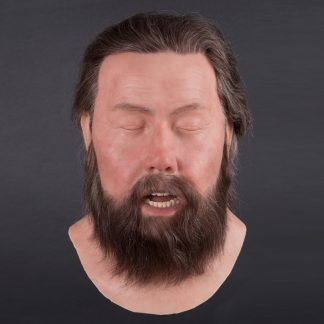 MSH802 Male silicone head - front view
