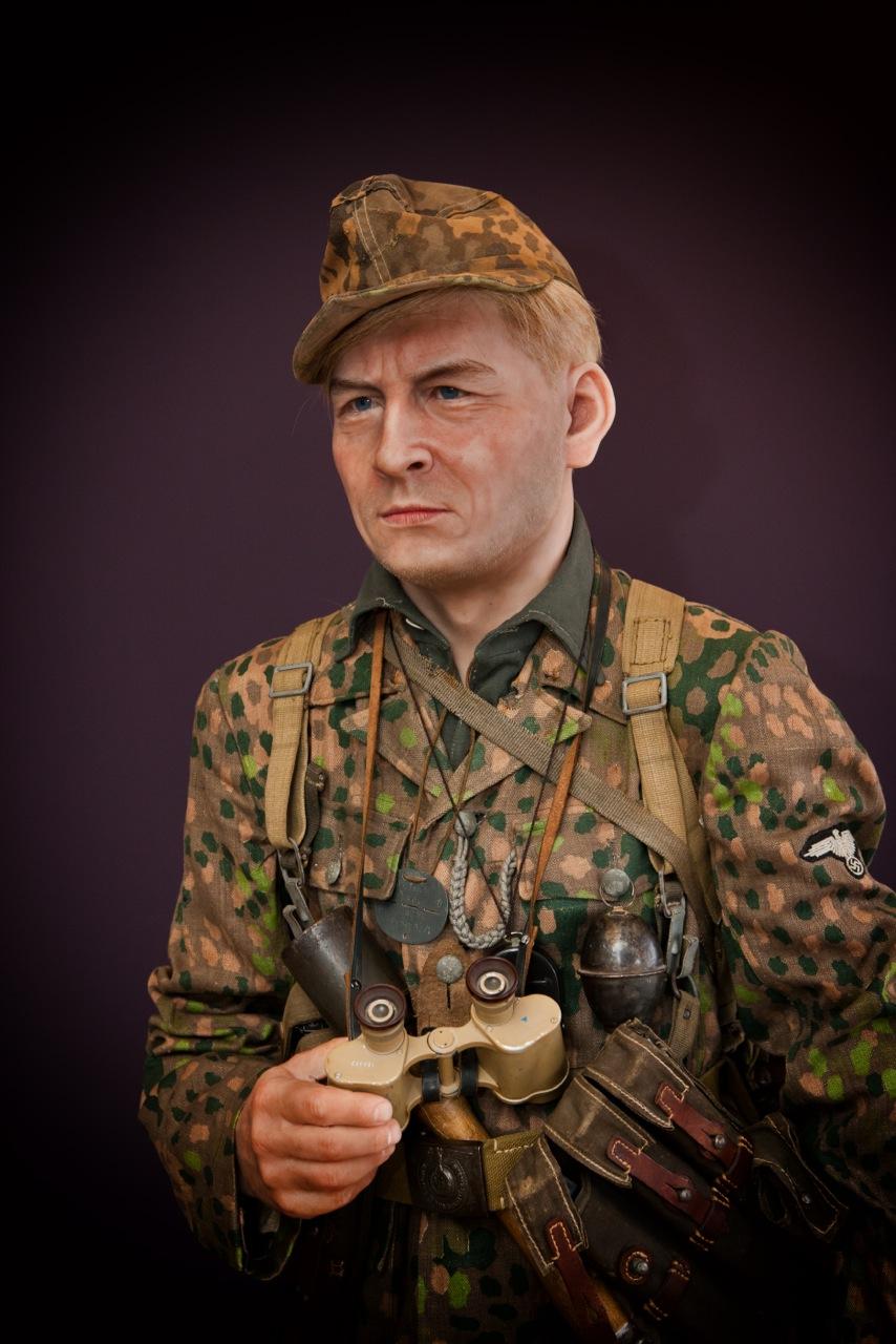 German soldier display mannequin for militaria collectors
