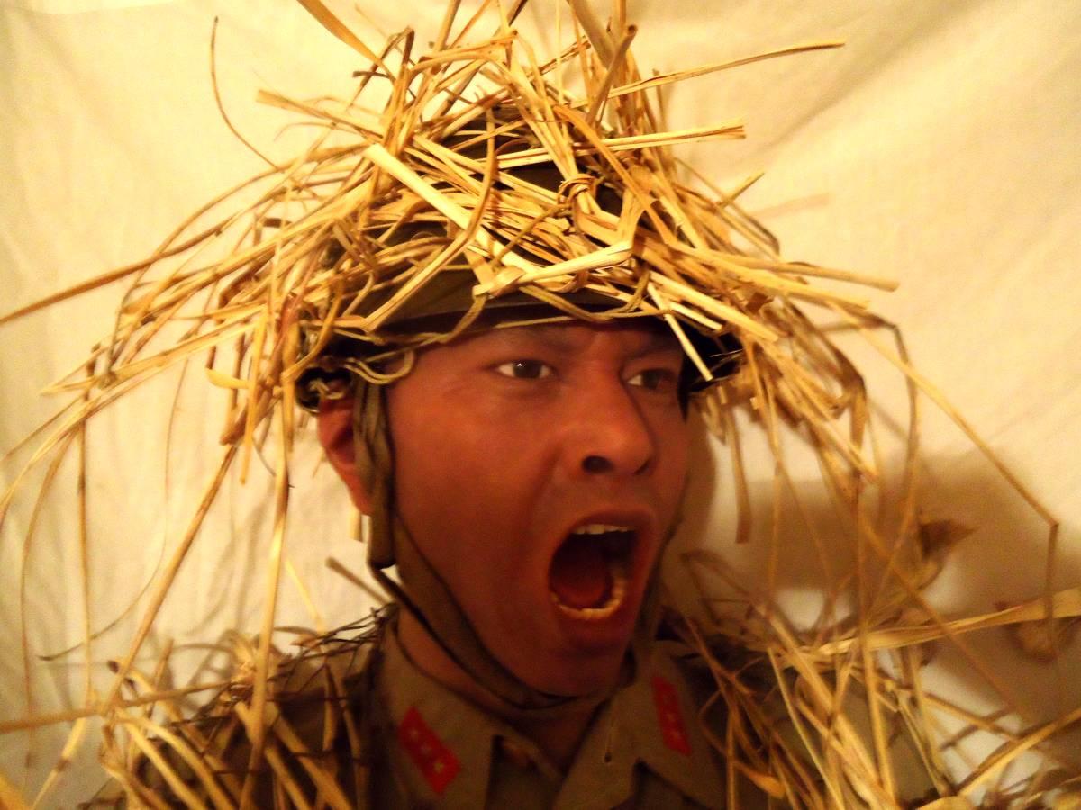 Japanese soldier display mannequin